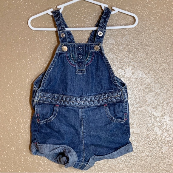 OshKosh B'gosh Other - Oshkosh B'Gosh baby girl Jean overalls